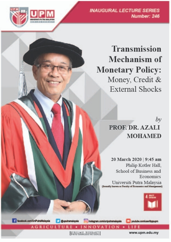 INAUGURAL LECTURE CEREMONY PROF DR AZALI MOHAMED
